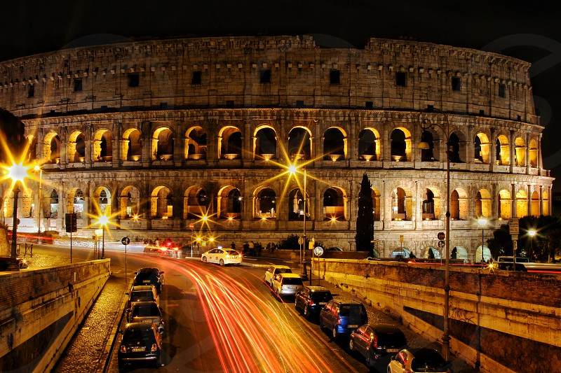 Colosseum of Rome Italy photo
