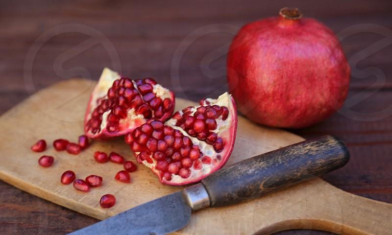 Pomegranate Seeds photo