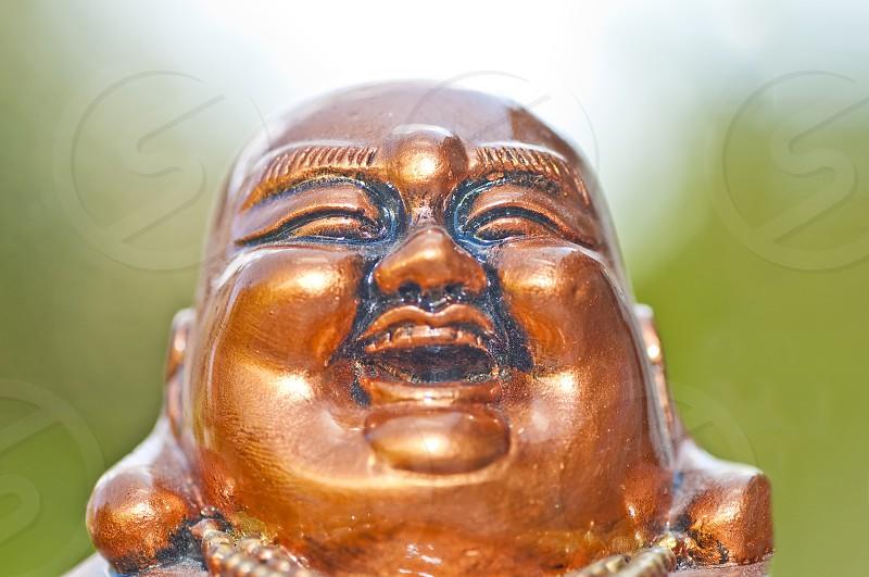 Buddha in light photo