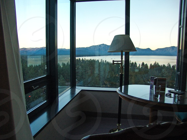 Room with a view at Lake Tahoe photo