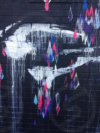 Street art. Graffiti. Patterns. Brooklyn. photo