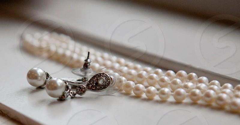 Pearl jewelry photo