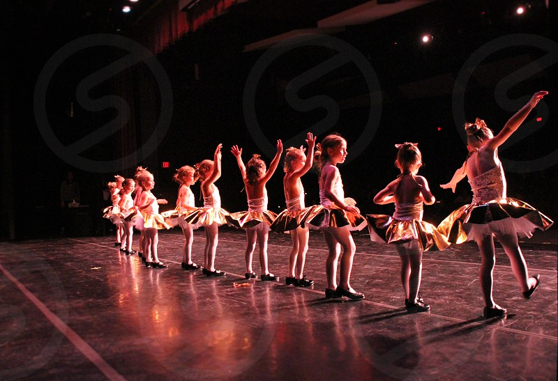 Performance. Children's Dance. Tap Dance. Recital photo