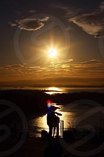 sunrise view photography  photo