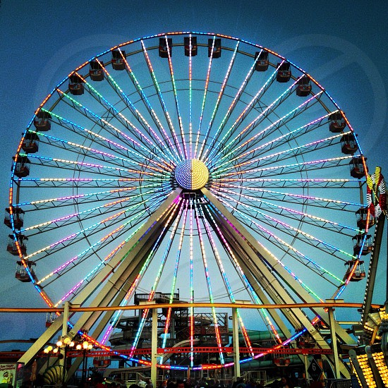 Ferris Wheel - Wildwood NJ  photo