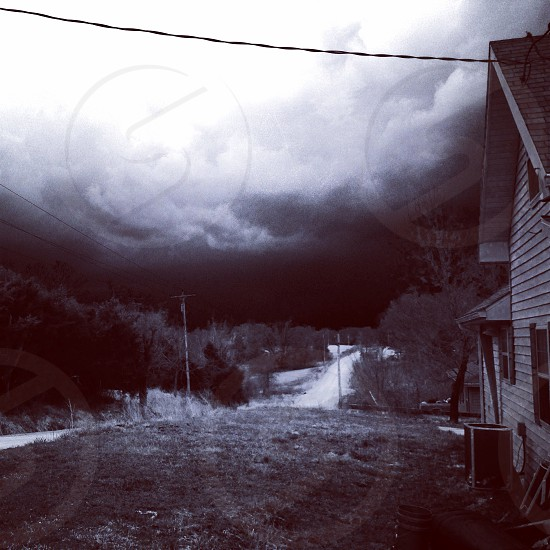 As the storm rolls in photo