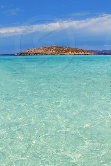 Illetes beach islands in Formentera Balearic islands Spain Illetas photo