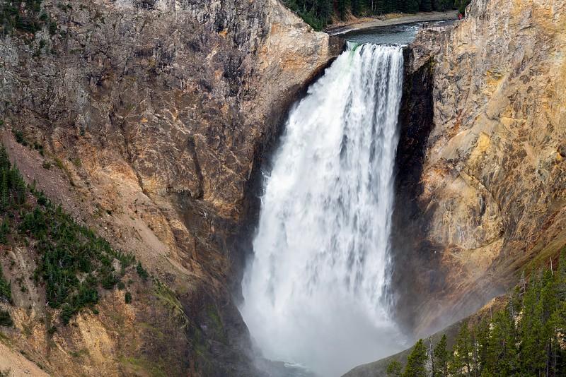 View of Lower Yellowstone Falls photo