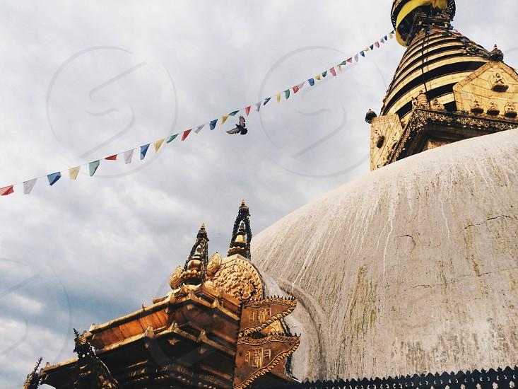 A temple in Kathmandu Nepal  photo