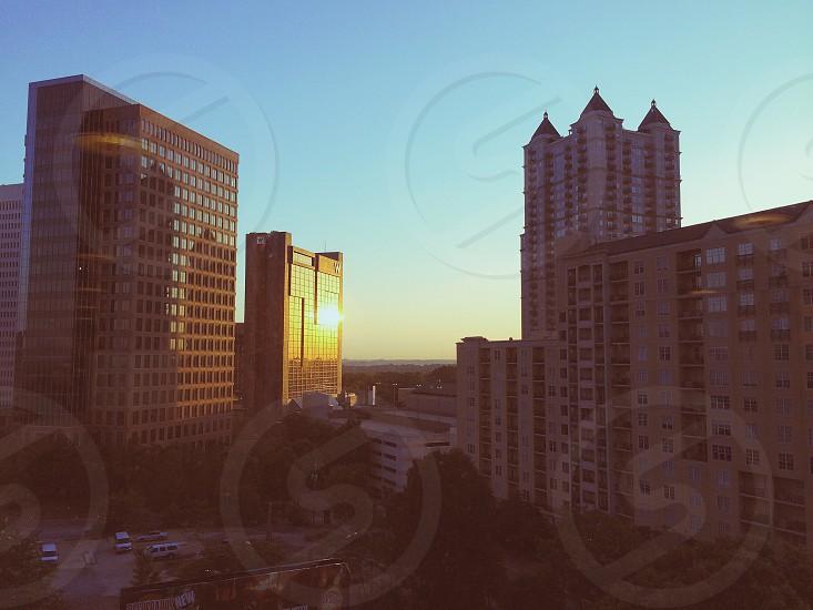 Atlanta cityscape morning vsco cam photo