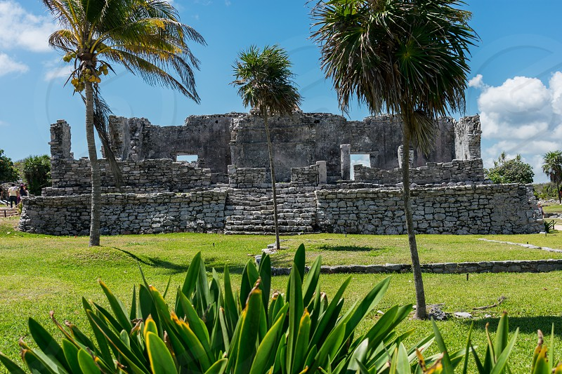 Tulum a magical place full of Mayan structures a culture worth knowing. photo
