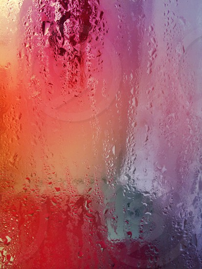 Abstract. Water and colors. photo
