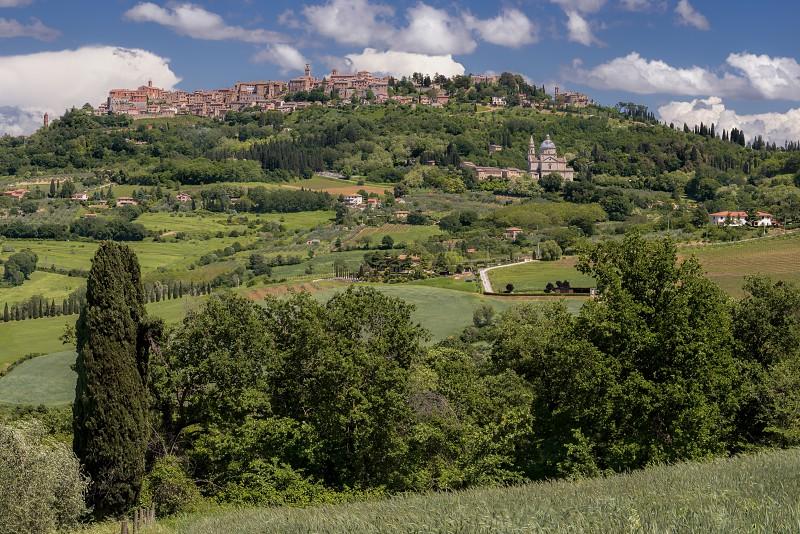 View of Montepulciano photo