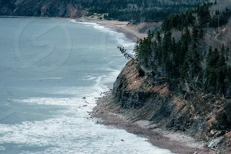 Nova Scotia Canadian coast photo