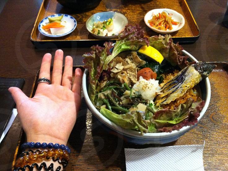 vegetable bowl salad photo