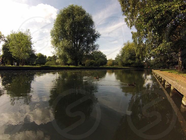 River Cam Cambridge UK  photo