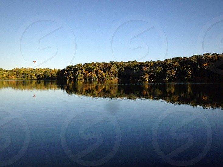 Relection in the lake photo