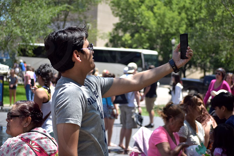 Selfie #Selfie #Mobile #Technology #Chicago #Pose #Outdoor #Friend photo