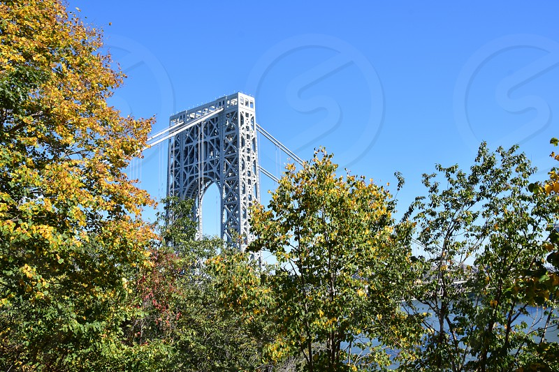 George Washington Bridge Historic Fort Lee NJ photo