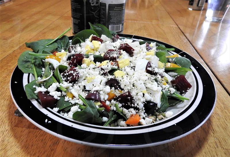 Really Big Salad           photo