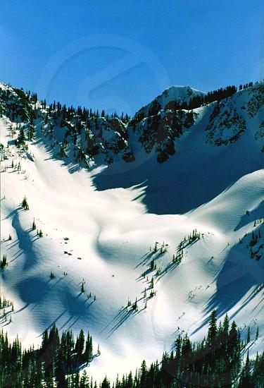 Mt. Bowl Ski Hill Utah USA photo