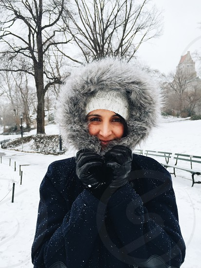 Snow NYC photo