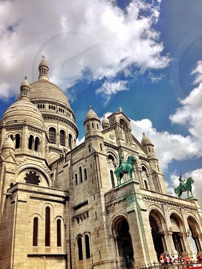A cathedral in Paris. photo