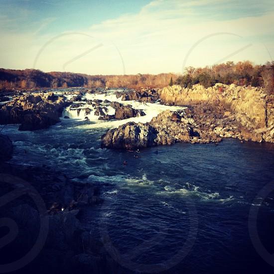 Great falls Virginia state park photo