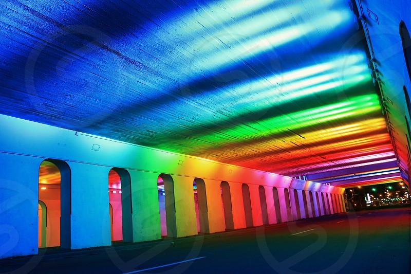 Rainbow Tunnel in Birmingham AL photo