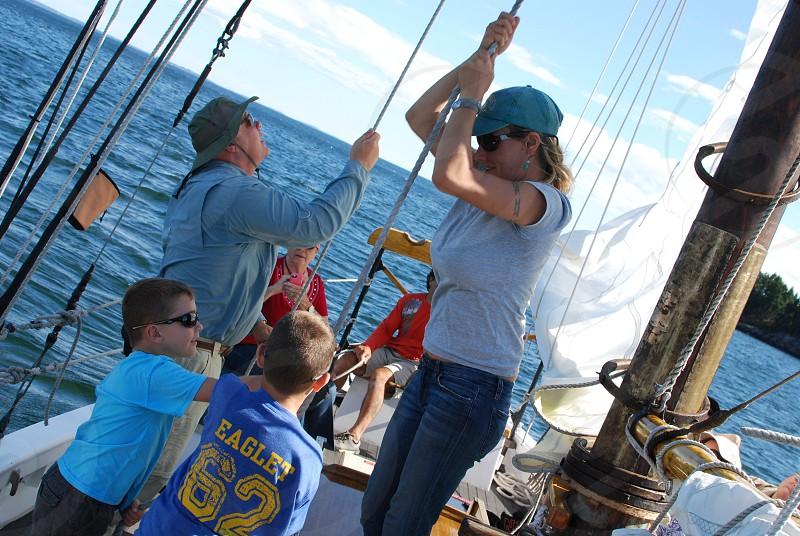 SailingwaterCamdenMainesails photo