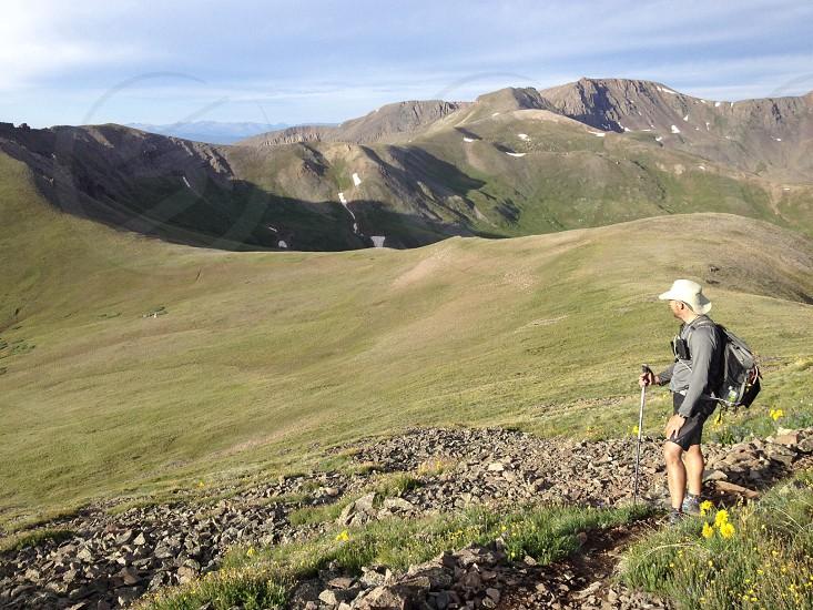 Colorado Trail San Luis Peak photo
