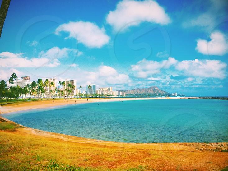 Ala moana beach HONOLULU photo