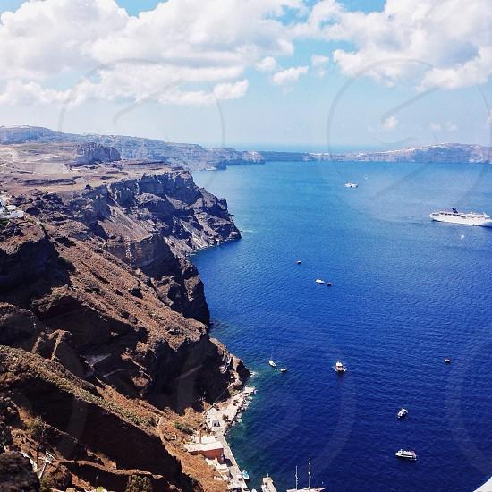 Firá in Greece photo