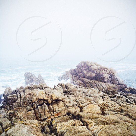 rocky wall  photo