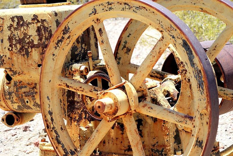 Antique equipment  photo