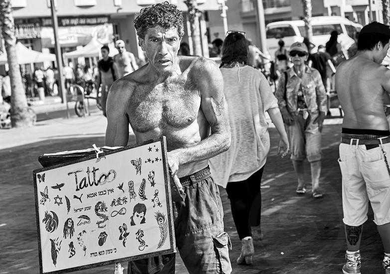 Tel Aviv street  photo