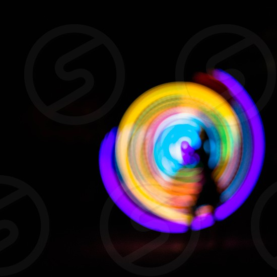 led hula hoop photo