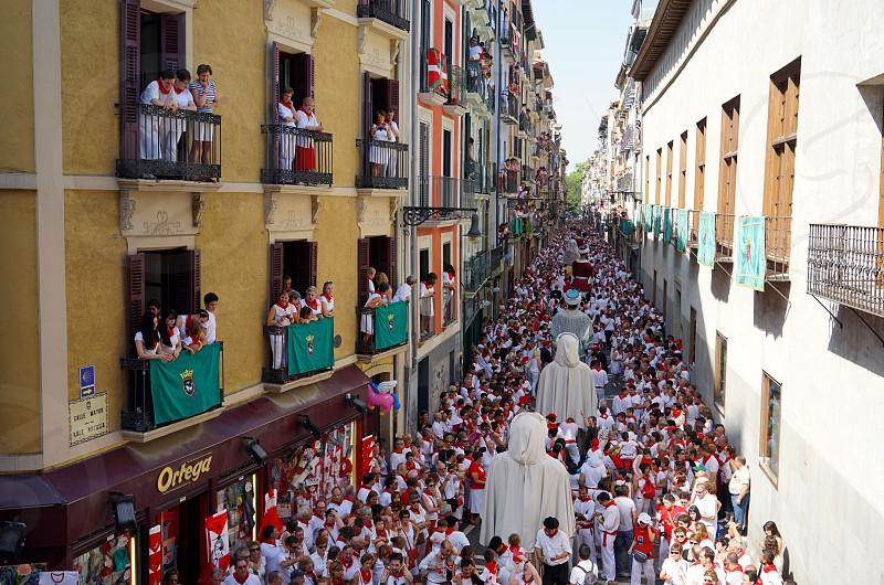 San Fermin Pamplona. photo