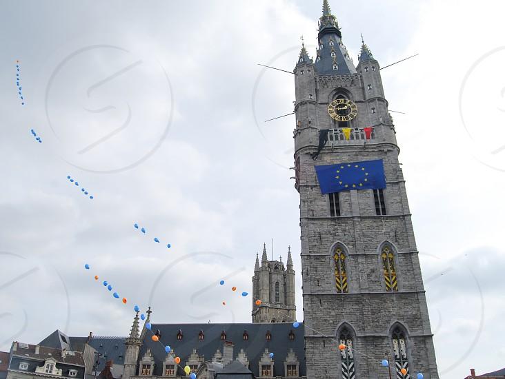 Belfry of Ghent Belgium photo