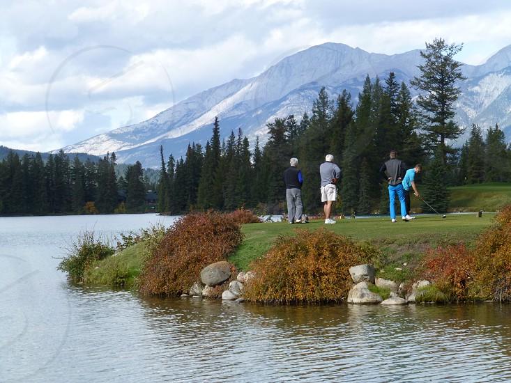 Scenic golf photo