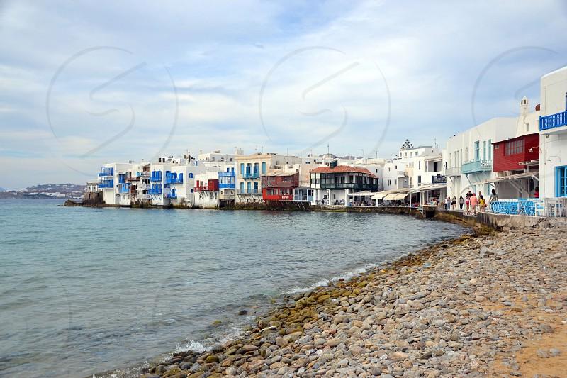 Island in Greece - Mykonos photo
