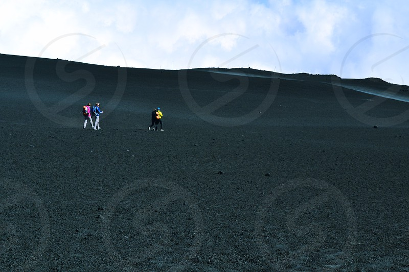 Etna vulcano on Sicily photo