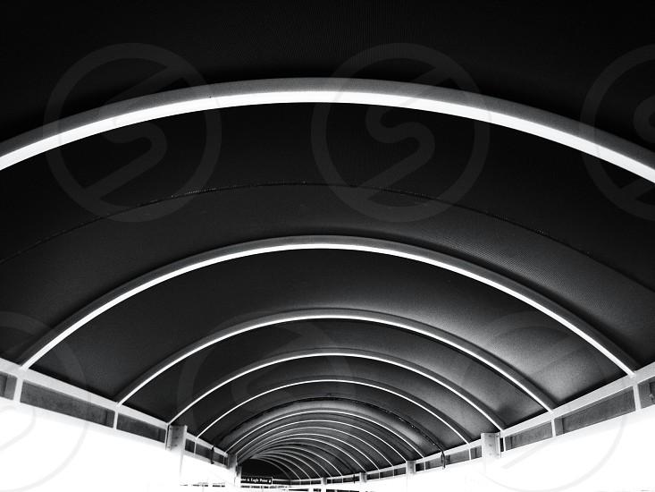 black ceiling  photo