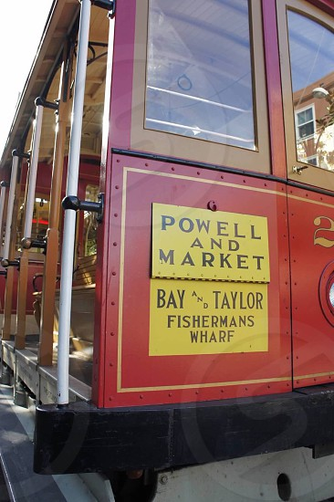 powell and market bay and taylor fishermans wharf photo
