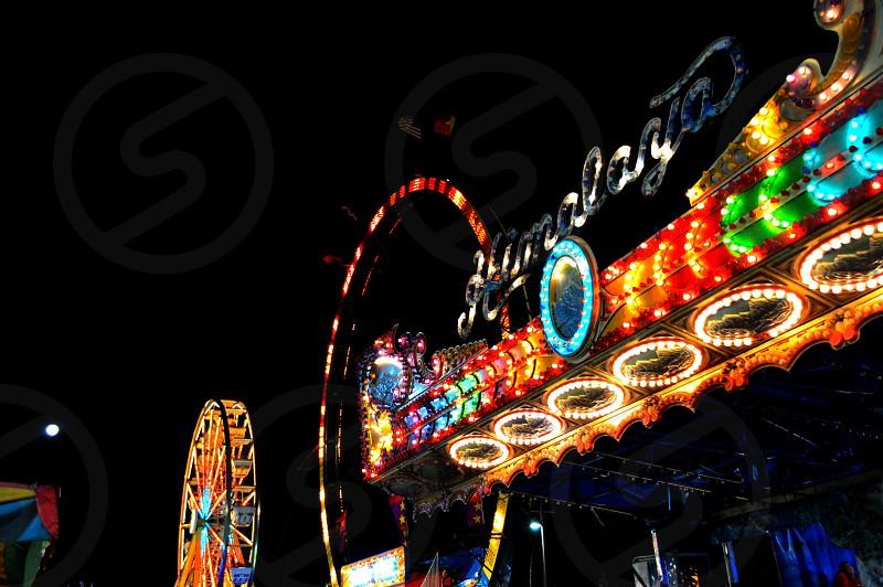 Carnival night in Nuevo Laredo Mexico photo