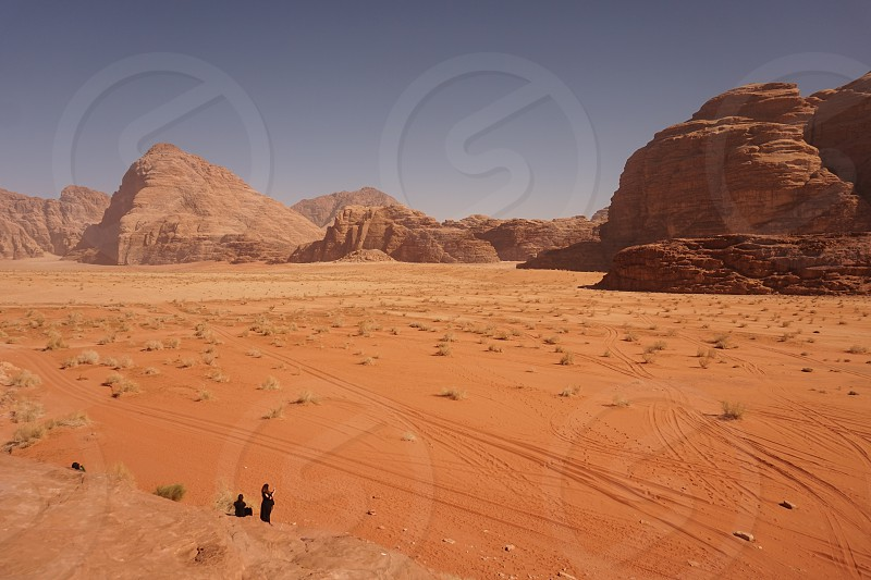Wadi rum Jordan desert travel adventure landscape  photo