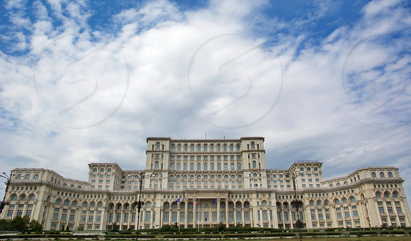 Bucharest The parliament photo