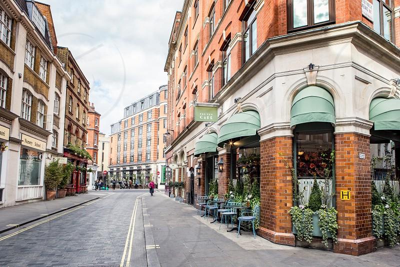 Marylebone Lane London photo