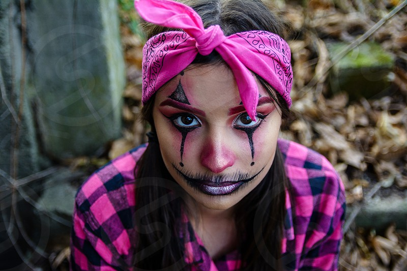 Halloween Costumes make up photo