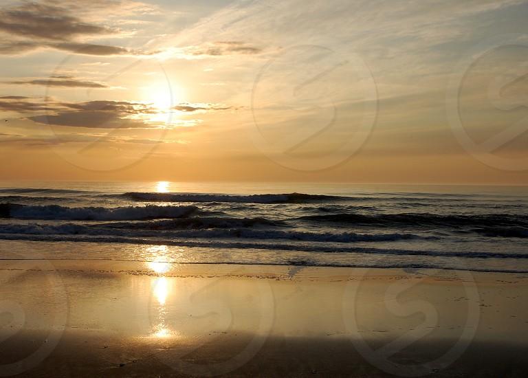 Second half of sunrise - OBX Corolla NC photo